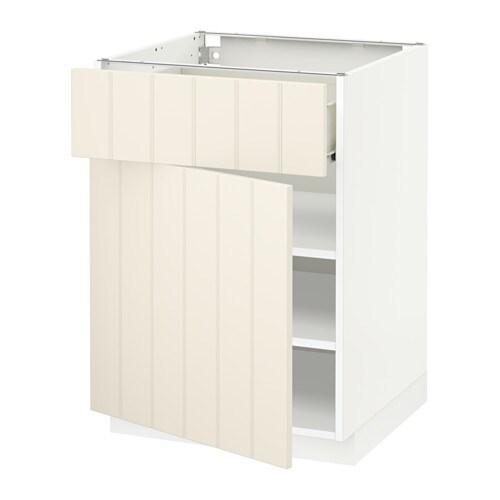 metod f rvara unterschrank mit schublade t r hittarp. Black Bedroom Furniture Sets. Home Design Ideas