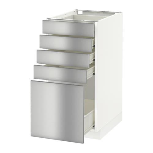 Vitrine Ikea Detolf Occasion ~ METOD  FÖRVARA Unterschrank mit 5 Schubladen > FÖRVARA Schubladen
