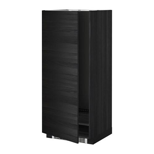 metod hochschrank f k hl gefrierschrank holzeffekt schwarz tingsryd holzeffekt schwarz. Black Bedroom Furniture Sets. Home Design Ideas