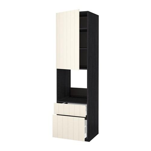 metod maximera hochschrank f backofen t r 2schubl. Black Bedroom Furniture Sets. Home Design Ideas