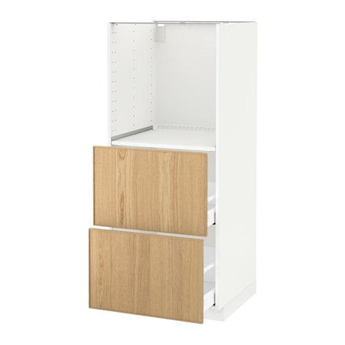 Kleiderschrank Ikea Pax Weiss ~ METOD  MAXIMERA Hochschrank m 2 Schubl für Ofen > Die Schublade