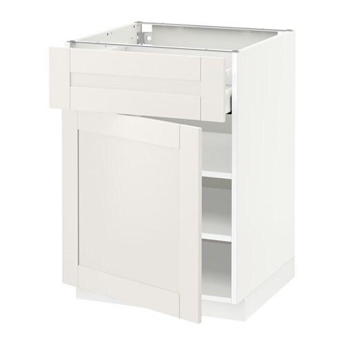 metod maximera unterschrank mit schublade t r s vedal wei 60x60 cm ikea. Black Bedroom Furniture Sets. Home Design Ideas