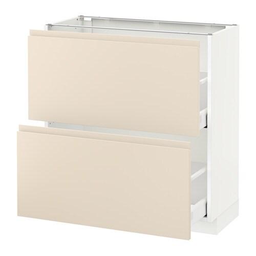 metod maximera unterschrank mit 2 schubladen voxtorp. Black Bedroom Furniture Sets. Home Design Ideas