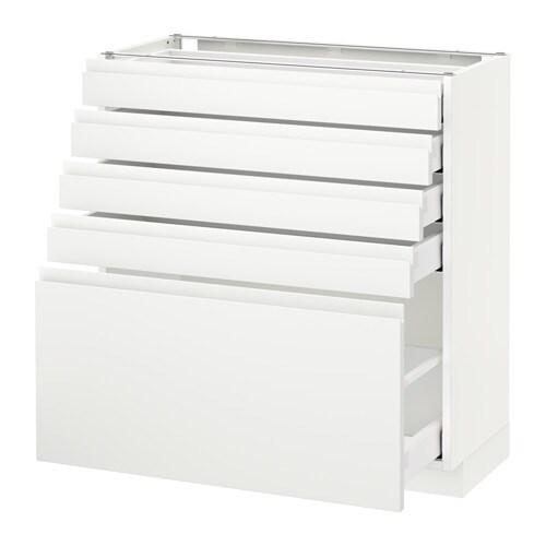 METOD / MAXIMERA Unterschrank mit 5 Schubladen - Voxtorp ...