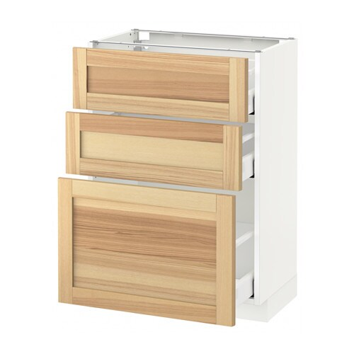 metod maximera unterschrank mit 3 schubladen torhamn. Black Bedroom Furniture Sets. Home Design Ideas