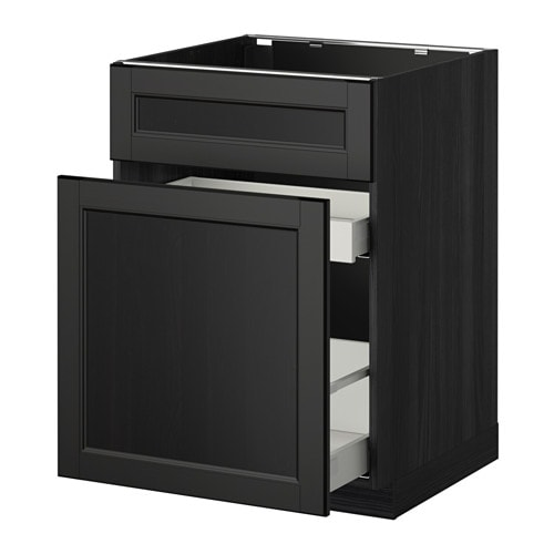 metod maximera uschr f sp le abftr 1t 2sch holzeffekt schwarz laxarby schwarzbraun ikea. Black Bedroom Furniture Sets. Home Design Ideas