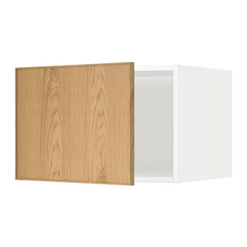 metod oberschrank f k hl gefrierschrank ekestad eiche 60x40 cm ikea. Black Bedroom Furniture Sets. Home Design Ideas