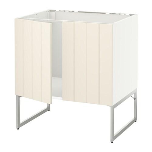 metod unterschrank f r sp le 2 t ren wei hittarp. Black Bedroom Furniture Sets. Home Design Ideas