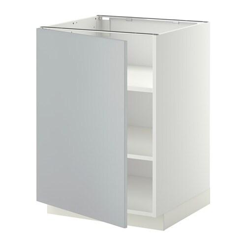 metod unterschrank mit b den wei veddinge grau 60x60 cm ikea. Black Bedroom Furniture Sets. Home Design Ideas