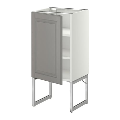 metod unterschrank mit b den bodbyn grau 40x37x60 cm ikea. Black Bedroom Furniture Sets. Home Design Ideas