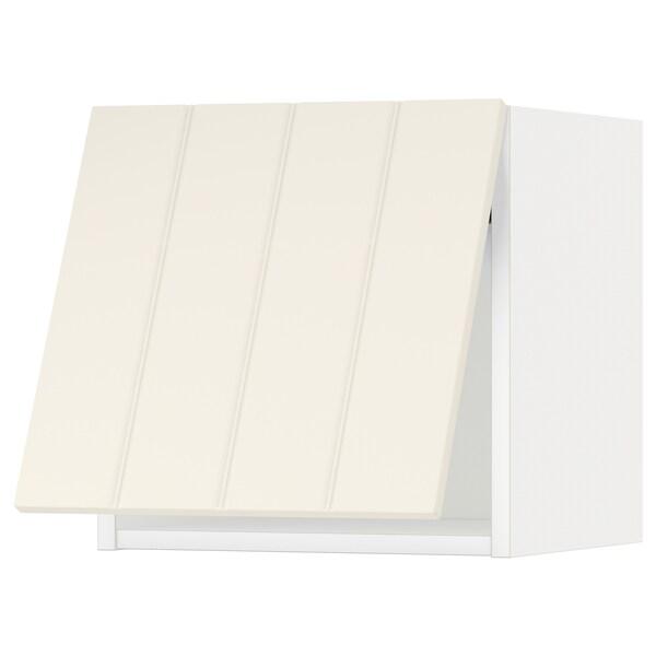 METOD Wandschrank horizontal weiß/Hittarp elfenbeinweiß 40.0 cm 38.8 cm 40.0 cm