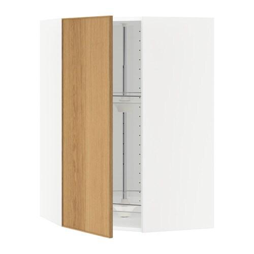 Ikea Kinderbett Gulliver Weiß ~ METOD Wandeckschrank mit Karussell > Mit versetzbarem Boden; der