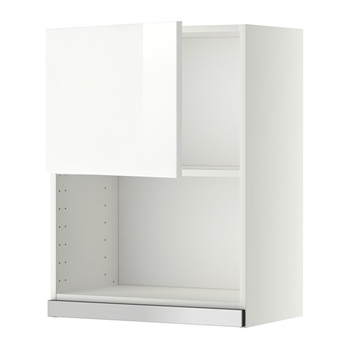 metod wandschrank f r mikrowellenherd ringhult hochglanz wei 60x80 cm ikea. Black Bedroom Furniture Sets. Home Design Ideas