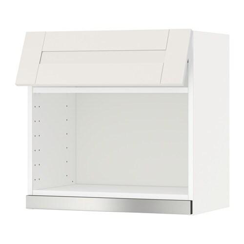 METOD Wandschrank für Mikrowellenherd - Sävedal weiß, 60x60 cm - IKEA