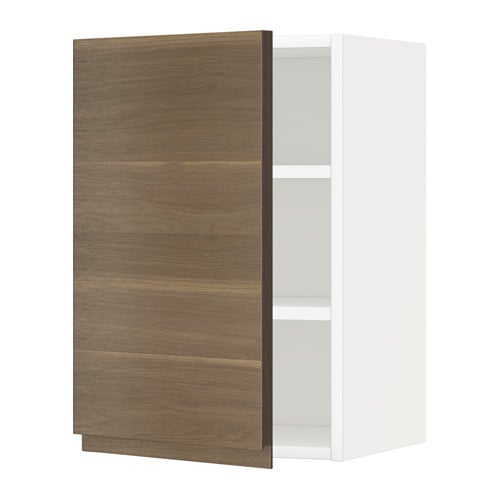 metod wandschrank mit b den voxtorp nussbaumnachbildung 40x60 cm ikea. Black Bedroom Furniture Sets. Home Design Ideas
