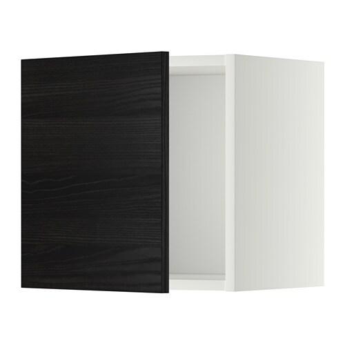 Metod wandschrank tingsryd holzeffekt schwarz 40x40 cm - Metod wandschrank ...