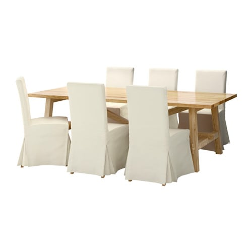m ckelby henriksdal tisch und 6 st hle ikea. Black Bedroom Furniture Sets. Home Design Ideas