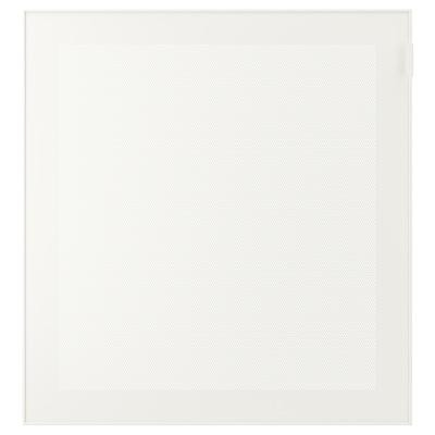 MÖRTVIKEN Tür, weiß, 60x64 cm
