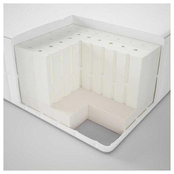 MYRBACKA Latexmatratze, mittelfest/weiß, 180x200 cm