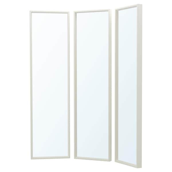 NISSEDAL Spiegelkombination, weiß, 130x150 cm