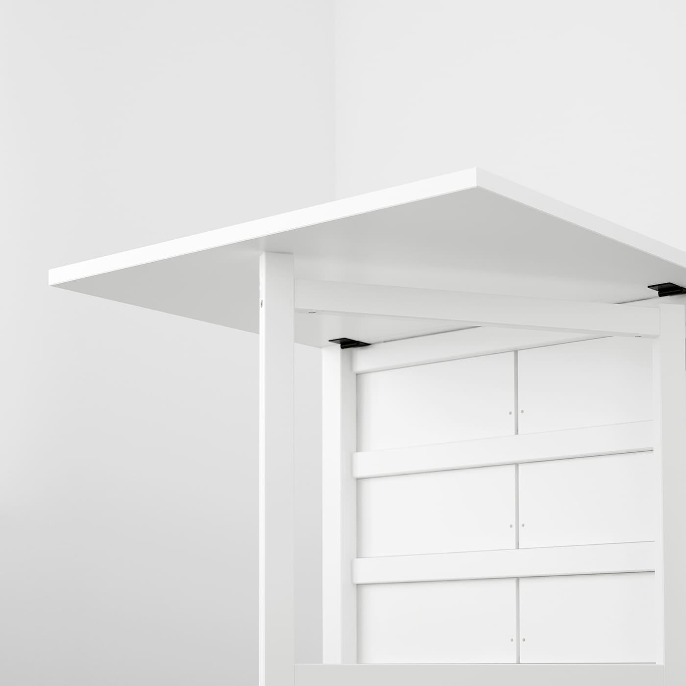 NORDEN Klapptisch - weiß 20/20/20x20 cm