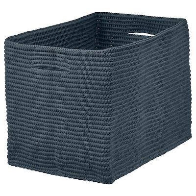 NORDRANA Korb blau 35 cm 26 cm 26 cm