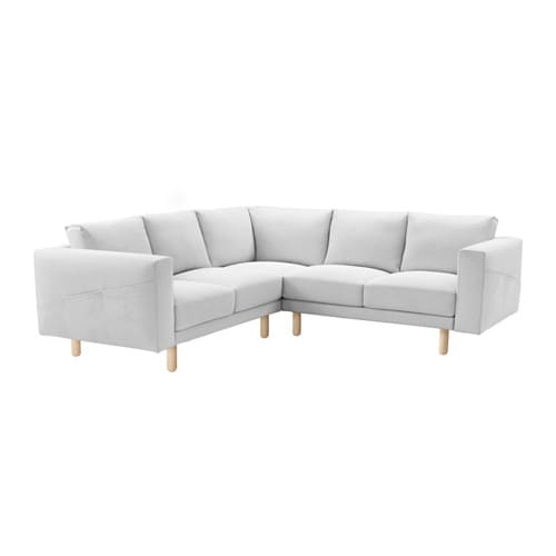 norsborg ecksofa 2 2 finnsta wei birke ikea. Black Bedroom Furniture Sets. Home Design Ideas