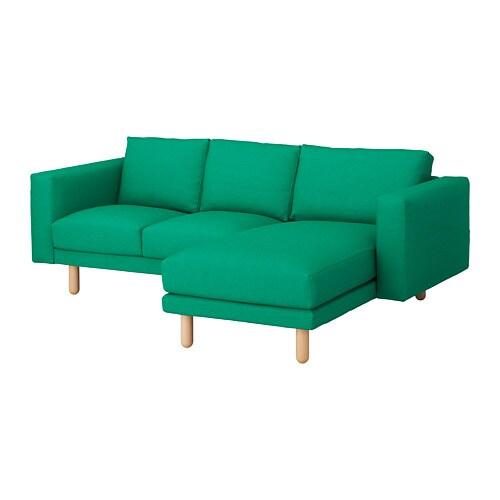 norsborg 3er sofa edum leuchtend gr n birke ikea. Black Bedroom Furniture Sets. Home Design Ideas