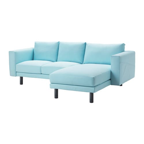 norsborg 2er sofa mit r camiere edum hellblau grau ikea. Black Bedroom Furniture Sets. Home Design Ideas