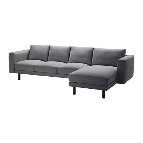 norsborg 3er sofa und r camiere finnsta dunkelgrau grau ikea. Black Bedroom Furniture Sets. Home Design Ideas