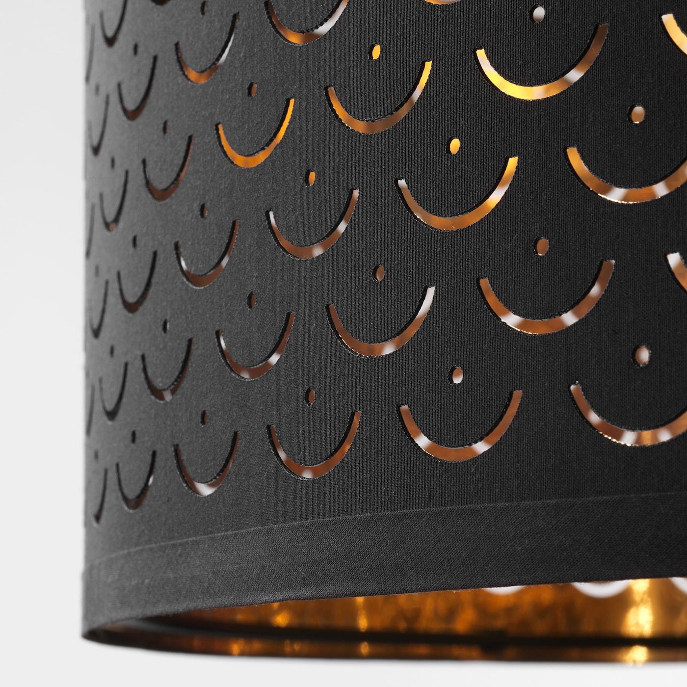 NYMÖ Leuchtenschirm schwarzmessingfarben 59 cm