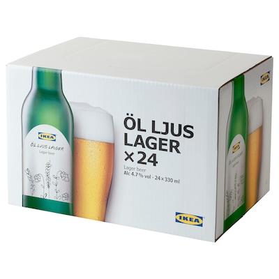 ÖL LJUS LAGER Bier hell 4,7% vol., 24 Stück