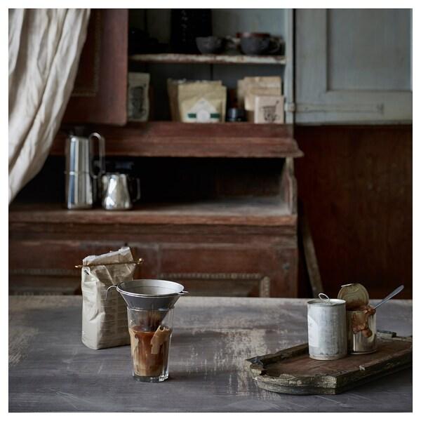ÖVERST Kaffeefilter, Metall 3-tlg., Edelstahl