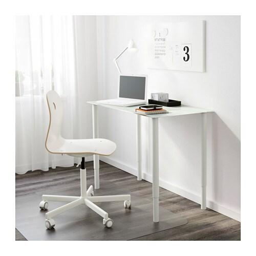 ikea schreibtisch bein. Black Bedroom Furniture Sets. Home Design Ideas