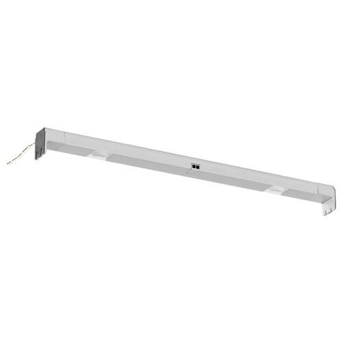OMLOPP Lichtleiste f Schubl., LED aluminiumfarben 36 cm