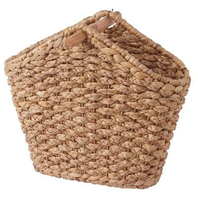 ORLUNDEN Korb mit Toilettenpapierhalter Wasserhyazinthe 40 cm 25 cm 38 cm