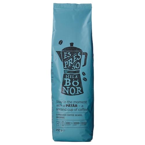 PÅTÅR Espressobohnen biologisch/Arabicabohnen, UTZ-zertifiziert 250 g