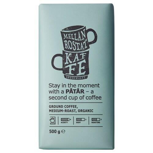 PÅTÅR Filterkaffee mittl. Röstung biologisch/Arabicabohnen, UTZ-zertifiziert 500 g