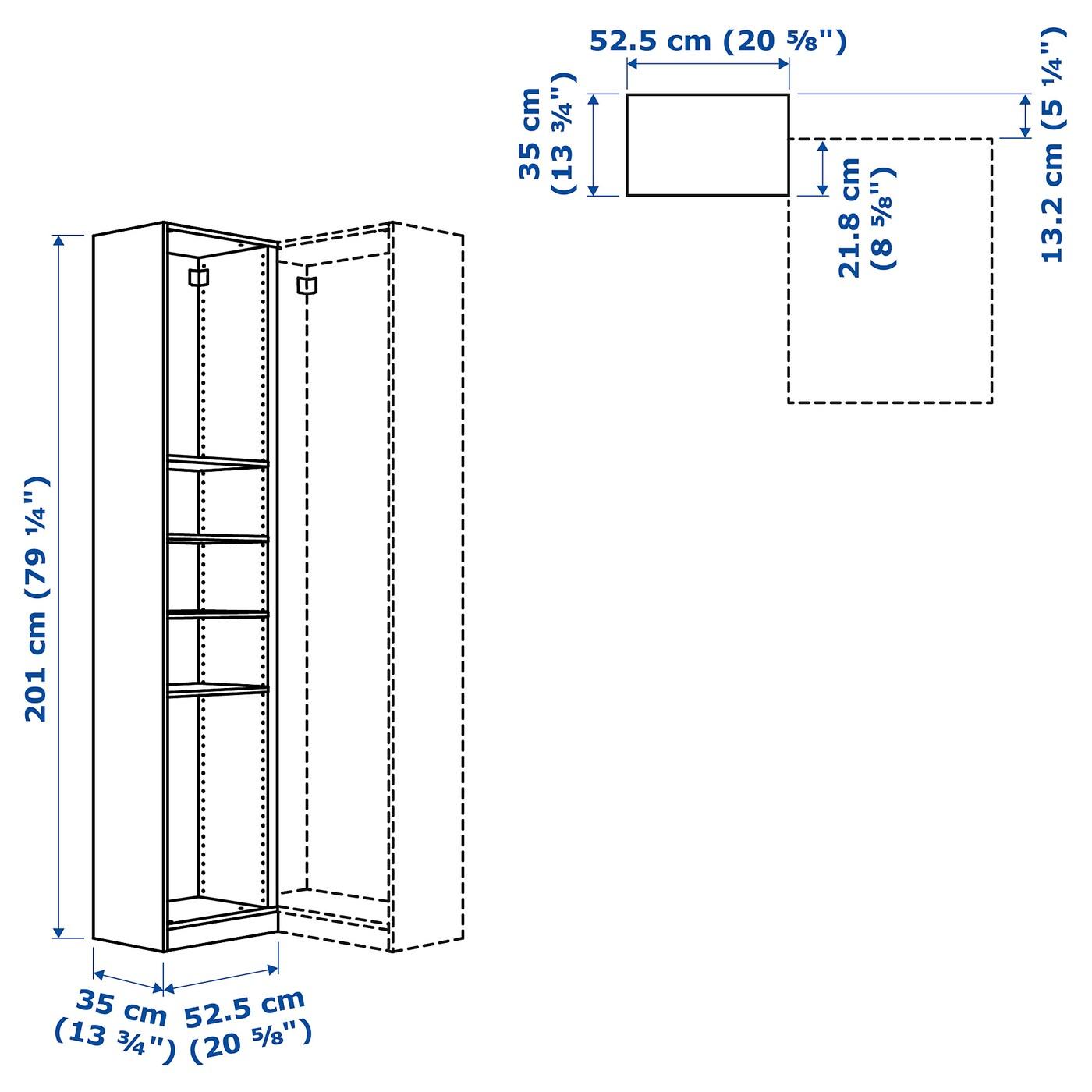 Pax Eckanbauelement 4 Boden Weiss Ikea Osterreich