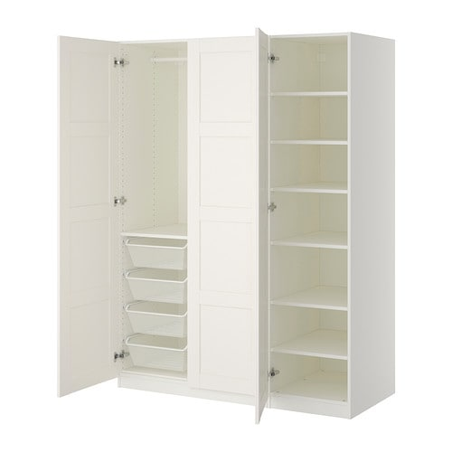pax kleiderschrank 150x60x201 cm scharnier ikea. Black Bedroom Furniture Sets. Home Design Ideas