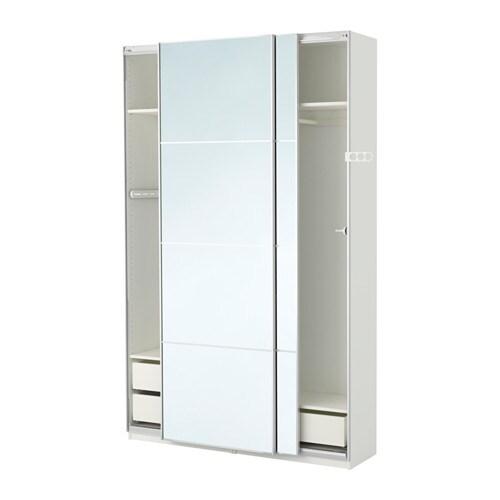 Ikea kleiderschrank weiß mit schiebetüren  PAX Kleiderschrank - 150x44x236 cm, -, - - IKEA