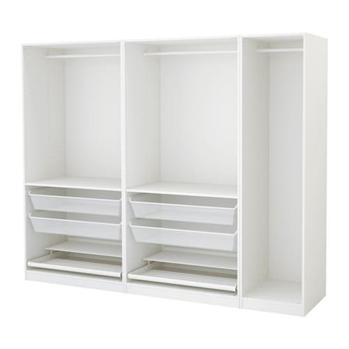 Ikea Pax Schrank Beleuchtung ~   Schlafzimmer  Kleiderschränke  PAX System Kombinationen ohne Türen