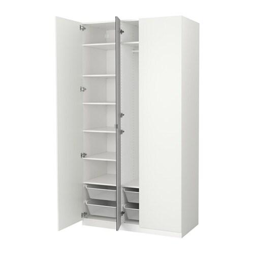 Kleiderschrank ikea  PAX Kleiderschrank - 125x60x201 cm, Scharnier, sanft schließend - IKEA
