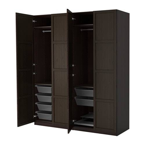 pax kleiderschrank scharnier sanft schlie end ikea. Black Bedroom Furniture Sets. Home Design Ideas