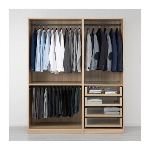 pax kleiderschrank eicheneff wlas 175x58x201 cm ikea. Black Bedroom Furniture Sets. Home Design Ideas