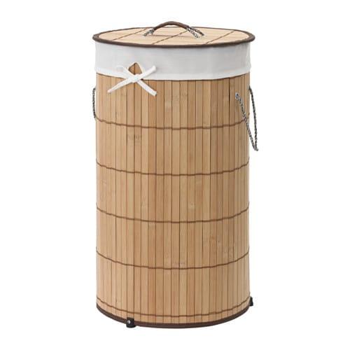 PJUCK Wäschekorb, gefüttert - IKEA