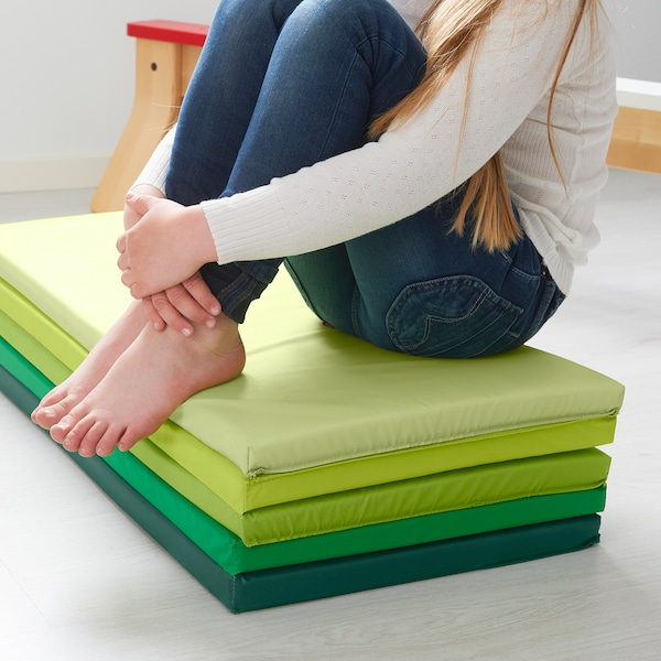IKEA PLUFSIG Gymnastikmatte, faltbar