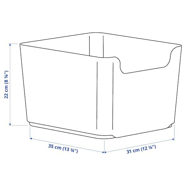 PLUGGIS Behälter für Abfalltrennung, weiß, 14 l