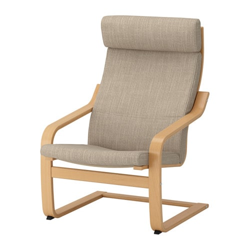 Ikea Sessel poäng sessel hillared beige ikea