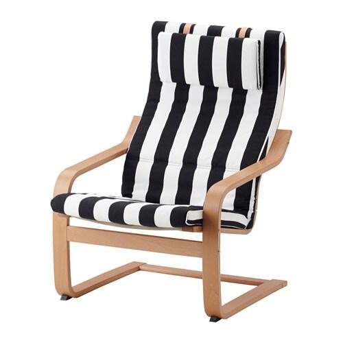 po ng sessel stenli schwarz wei ikea. Black Bedroom Furniture Sets. Home Design Ideas